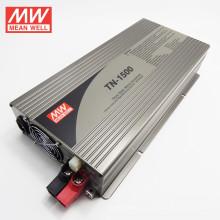 MEANWELL inversor de onda sinusoidal pura 24Vdc a 220VAC con cargador 1500w versión TN-1500-224B