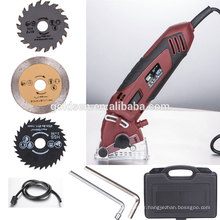 55mm 400w Metal Tile Wood Cutting Power Petite machine électrique Mini Circular Micro Saw