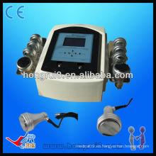HR-706A CE Máquina de quemar grasa portátil de ultrasonido, máquina de belleza de adelgazamiento al vacío