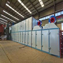 El secador de chapa de biomasa no tiene problemas ambientales