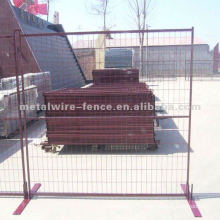crowd control barrier fence panel and feet