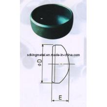 Seamless Carbono Aço Sgp Cap