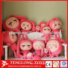 2015 nuevo diseño peluche muñeca muñeca juguete relleno muñeca juguete muñeca suave