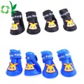 Hot-sale Pet Rainshoes Rain Boot Shoes Kasut Silikon
