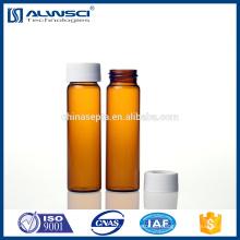 Freie Proben 40ml Amber Glasfläschchen