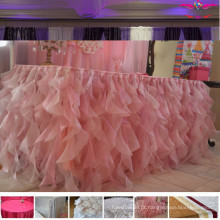 Panos de mesa de casamento luxuosos