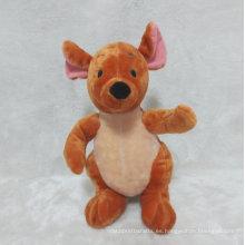 Juguete de peluche de canguro de bebé juguete relleno de canguro para regalos de promoción