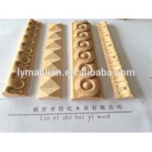 Talla de madera MDF moldeado de madera