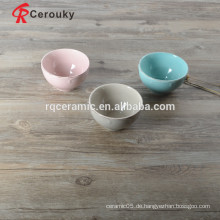 Glänzende Glasur schöne vietnam Keramik Schüssel