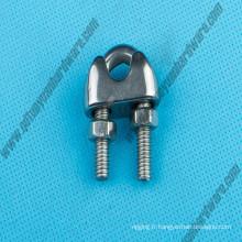 Acier inoxydable 304/316 Marine Matériel DIN741 Câble Rope Clip