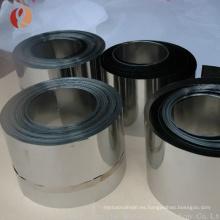 Pulido de hoja de hafnio puro 0,15 mm / tira con precio de fábrica