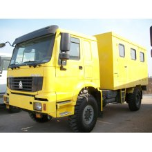 HOWO 4X4 Mobile Workshop Truck for Repair and Maintenance