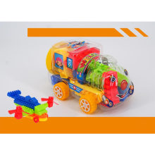 60PCS in Train Jar Building Block