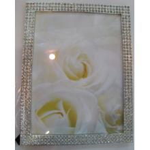 Le cadre de Photo de cristal métal vente chaude
