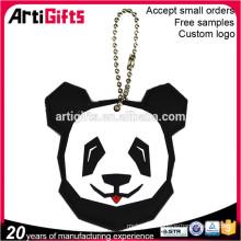 Factory direct sale custom soft pvc animal keychain