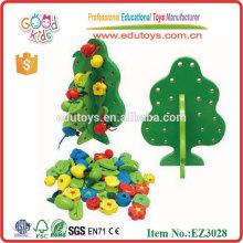Kinder Mini Perlen Spielzeug Holz Baum Spielzeug