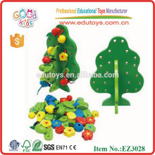 Kids Mini Bead Toys Wooden Tree Toy