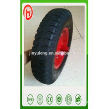 cheap seal 400-8 lug pneumatic rubber wheel for wheel barrow Middle East market