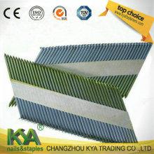 Pregos de fita de papel brilhante de 34 graus