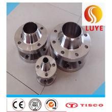 Bride de plat d'acier inoxydable d'ASTM / AISI 316ti 316