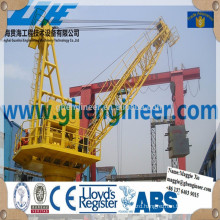Shipyard jetty pedestal mobile portal crane