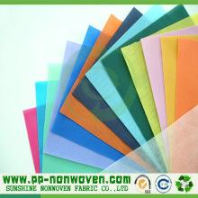 Tecidos 100% não tecidos de Spunbond do polipropileno
