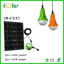 Smart mini colgante solar decorativa colgante de luz para la iluminación casera con 3 lámparas de LED colgantes