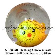 Destello de pollo Wate Bounce Ball