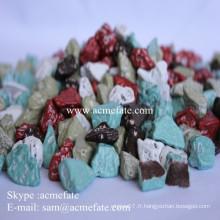 Distributeurs de chocolat mélange composé chocolat
