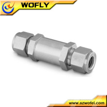 stainless steel ferrule gas tube filter