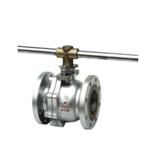 Two Pieces Floating Ball Valve