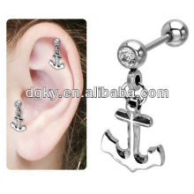 Magnetic Dangle Anchor Cartilage Earring