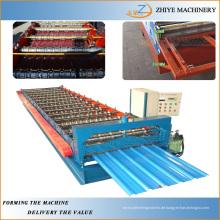 Kaltstahl Blechumformung Maschine / Wellblech Blechdachmaschinen