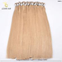 Los productos superventas de YBY pueden lavar el soplo seco y calentar las extensiones nanas del cabello humano del anillo de Slyle