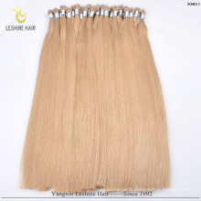 YBY Best Selling Products peut laver Blow Dry Et Chaleur Slyle Nano anneau extensions de cheveux humains