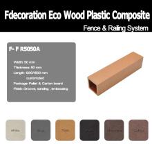 Publicación compuesta de WPC del plástico de madera plástica ambiental