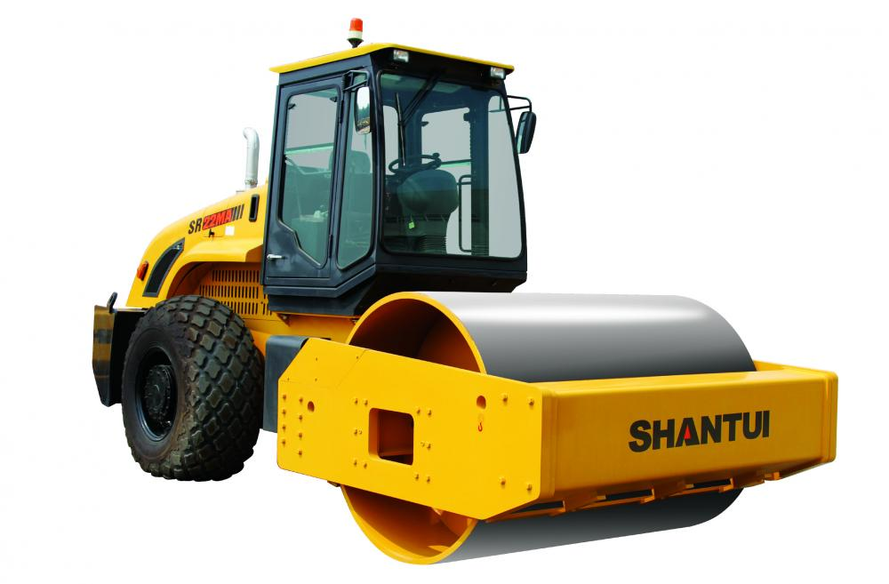 22 Ton Mechanical Single Drum Vibratory Roller
