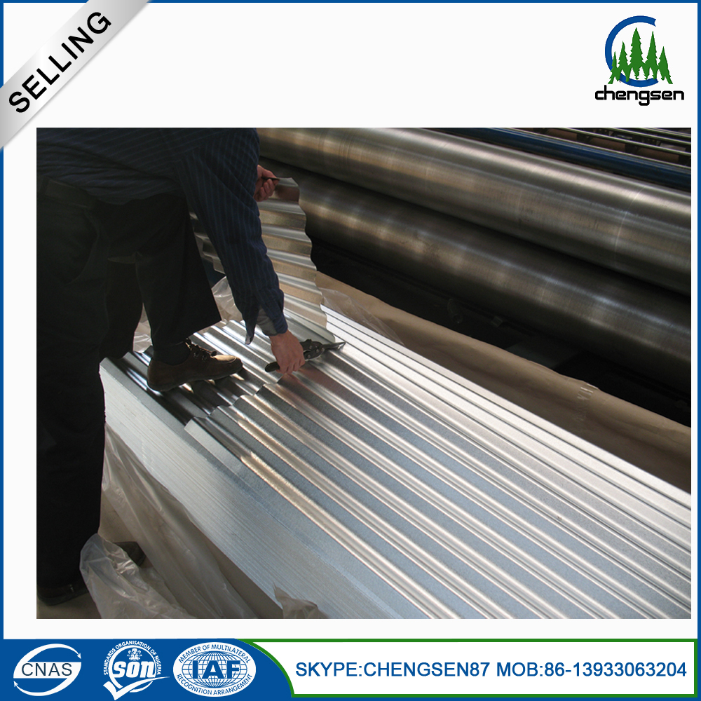 Hot dipped galvanized corrugated roofing sheet