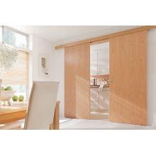 Твердые деревянные раздвижные двери шкафа, дверь столовой