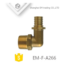 EM-F-A266 rosca macho G y unión de tubo circular de latón de diferente diámetro