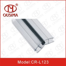 Verre imperméable pour douche en verre pour douche 6-12mm en verre, bande magnétique pour porte vitrée