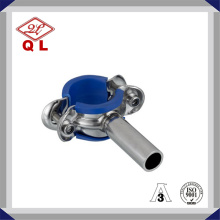 Sanitary Round Pipe Holder with Rubber