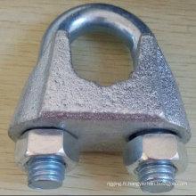 Serre-câble Type matériel Galv malléable u. s. de gréement