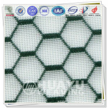 Bicolor Polyester Warp Knitting Spacer Mesh Fabric