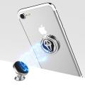 Support transparent d'anneau de doigt d'anneau de support de téléphone portable de rotation de 360 degrés pour des smartphones