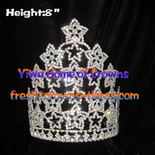 8inch Star Crystal Crowns Collections