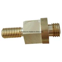 Moldeo de inyección de plástico y CNC torneado de piezas y piezas de automóviles Mecanizado CNC (MQ047)