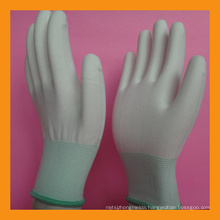 Lint Free Nylon Polyester Seamless Knitted Glove