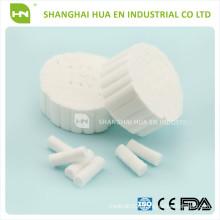 ROLL DE COTON DENTAIRE DISPONIBLE 1.0CMX3.8CM fabriqué en Chine