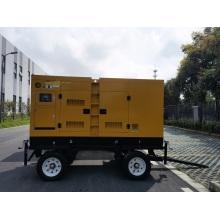 48KW Cummins Trailer Type Generator Set